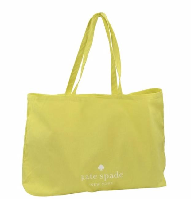 Item - Large Shopper Yellow Canvas Tote