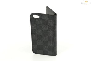 Louis Vuitton Louis Vuitton Damier Canvas iPhone SE Folio Case