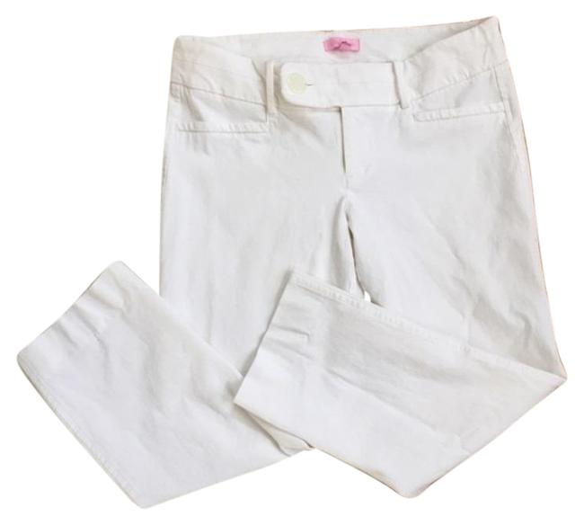 Item - White Luxury Resort Capris Size 10 (M, 31)