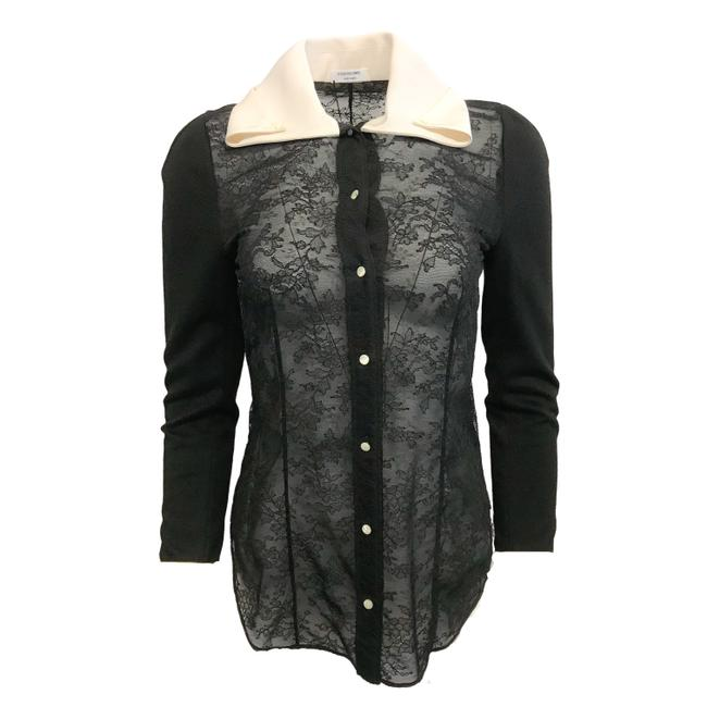 Item - Black Lace Blouse Size 4 (S)
