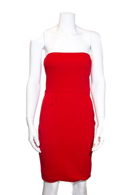 Item - Red Strapless Short Cocktail Dress Size 0 (XS)