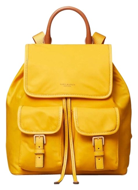 Item - Perry Yellow Nylon Backpack
