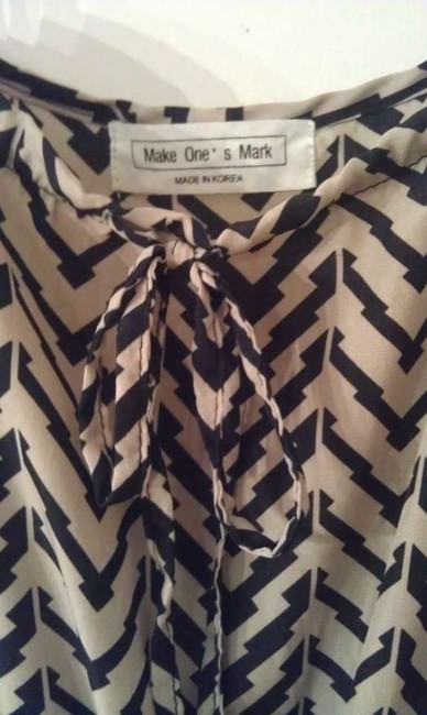 Black and Taupe Maxi Dress by Make One's Mark