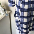 Anthropologie Blue/White Maeve Devery Short Casual Dress Size 4 (S) Anthropologie Blue/White Maeve Devery Short Casual Dress Size 4 (S) Image 7