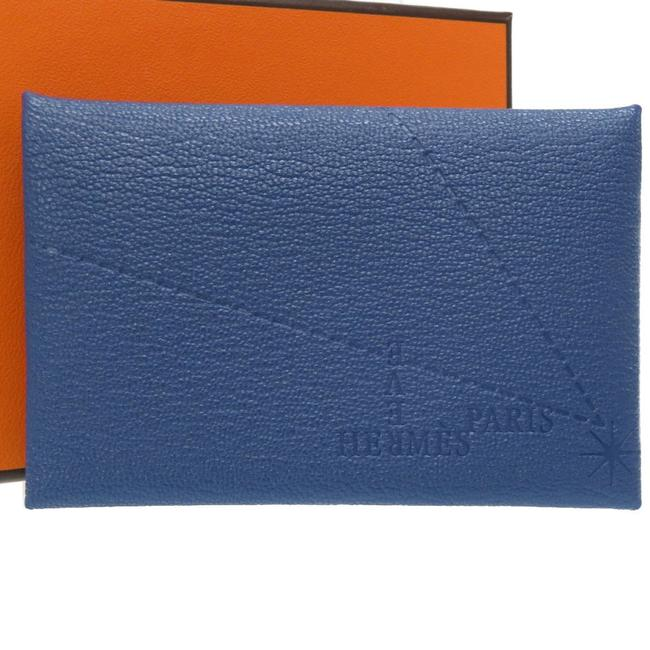 Item - Blue Calvi Sable Brighton Iwataya 2019 Limited Coin Case D Engraved Wallet