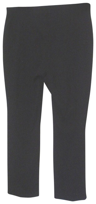 Item - Black XL Stretch Knit Trousers Elastic Waist Pants Size 16 (XL, Plus 0x)