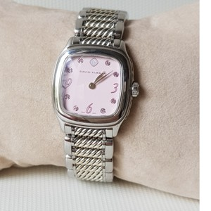 David Yurman David Yurman Thoroughbred Pink Sapphire Watch