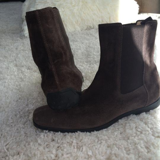 JP TODD JP TODD Chocolate brown Suede Boots