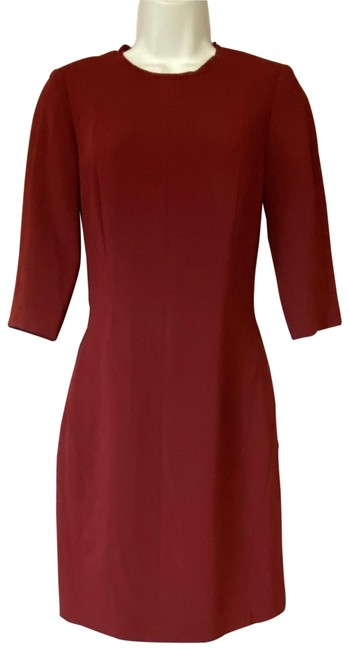 Item - Burgundy Rag&bone Sheath Short Casual Dress Size 0 (XS)