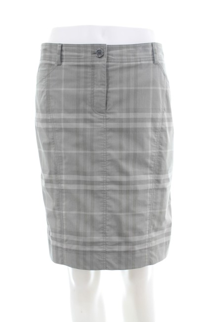 Item - Grey Signature Checkered Skirt Size 10 (M, 31)