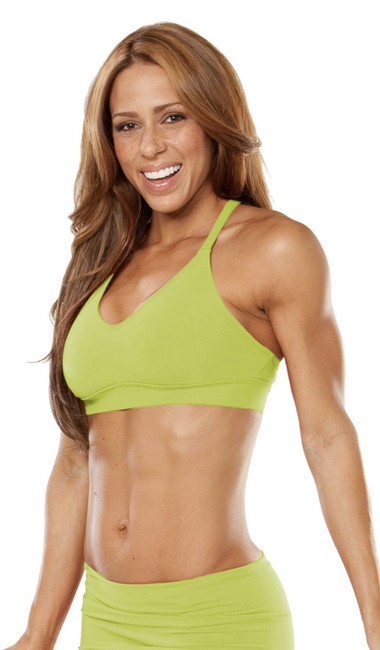 Item - Lime Green Racer Doll Activewear Sports Bra Size 4 (S, 27)