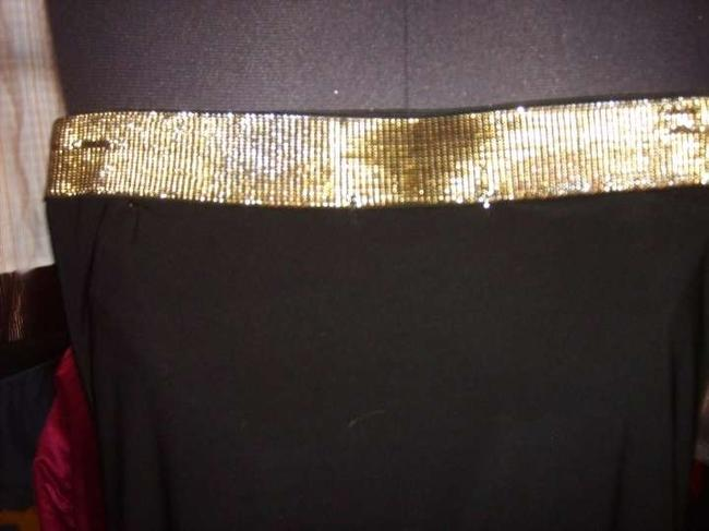 Charlotte Russe Top black and gold