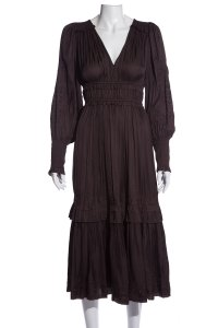 Brown Maxi Dress by Ulla Johnson
