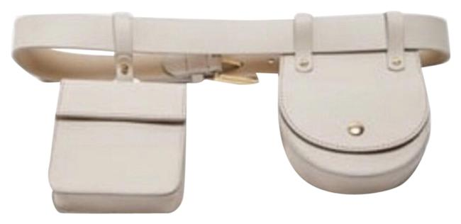 Item - Stone Leather with Coin Pockets Belt