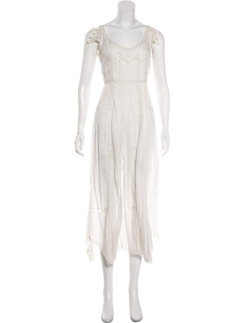Item - White Mid-length Casual Maxi Dress Size 4 (S)