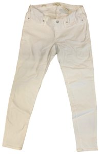 Madewell Side-Panel Skinny Jeans in Pure White