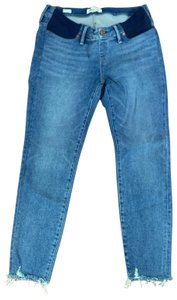 Madewell Maternity Side-Panel Skinny Jeans in Cordova Wash