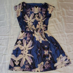 Joe Fresh short dress Purple, Blue, White on Tradesy