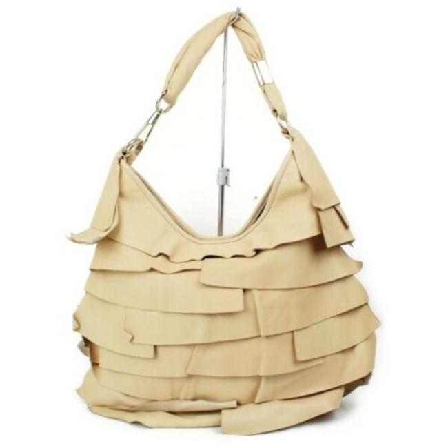 Item - Shoulder XL With Layers Of Beige/Nude Leather Hobo Bag
