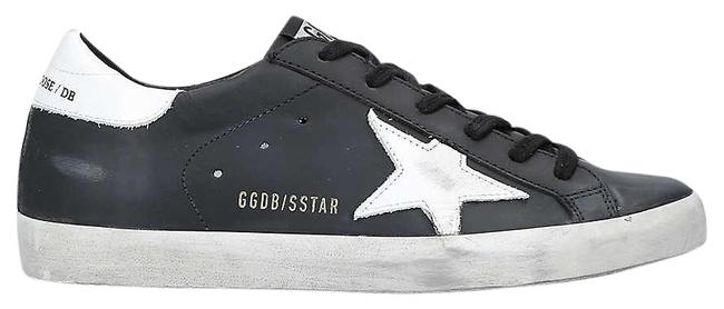 Item - Black Superstar W5 Leather Trainers Sg Sneakers Size EU 41 (Approx. US 11) Regular (M, B)