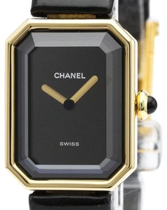 Chanel CHANEL Premiere 18K Gold Leather Quartz Ladies Watch H0090