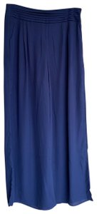 Double Zero Wide Leg Pants blue