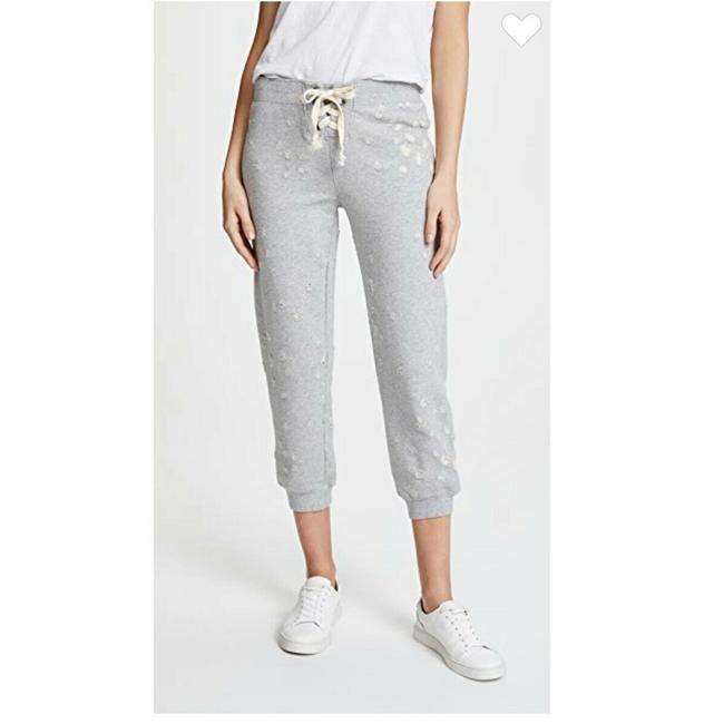 Item - Gray Studio By Lace Up Cropped Joggers Pants Size 4 (S, 27)