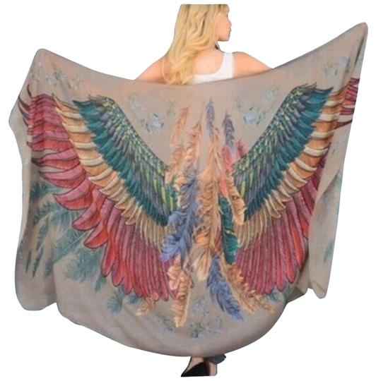 Preload https://item1.tradesy.com/images/multicolor-nwtfree-bird-oversized-scarfwrap-2757550-0-0.jpg?width=440&height=440