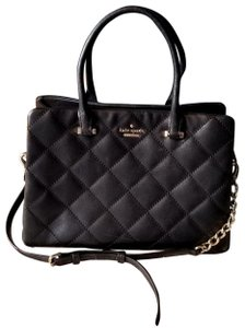 Kate Spade Olivera Emerson Place Quilted Leather Shoulder Satchel in Island Waters
