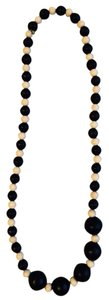 Express Black And White Necklace