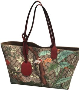 Gucci Tote in Brown Red