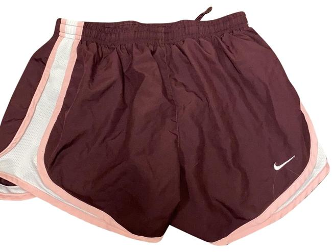 Item - Maroon Dry Fit Womens Workout Activewear Bottoms Size 6 (S)