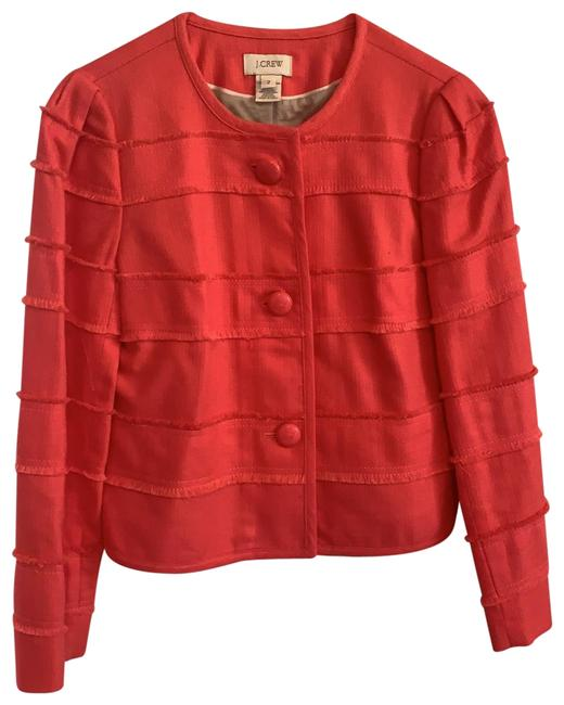 Item - Coral Cropped Jacket Size 2 (XS)