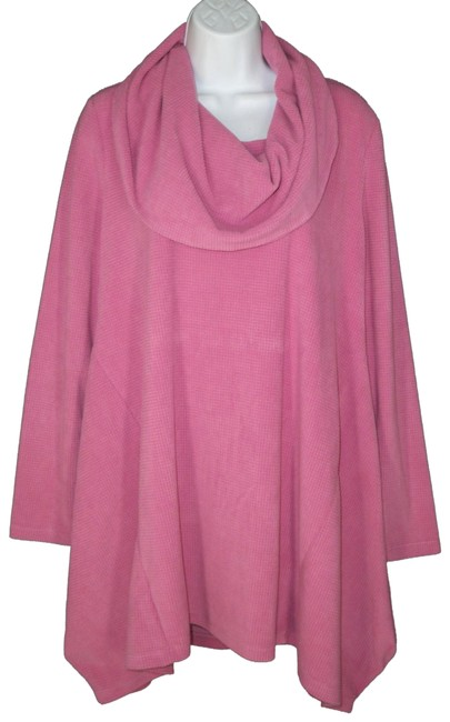 Item - Pink Darcey Cowl Neck Tunic Size 10 (M)