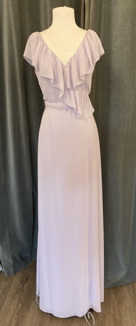 Item - Lavender Chiffon Lolo Casual Bridesmaid/Mob Dress Size 8 (M)