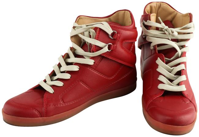 """Item - Red Men 80's """"Blood Boots"""" High Top Sneakers Size EU 45 (Approx. US 15) Regular (M, B)"""