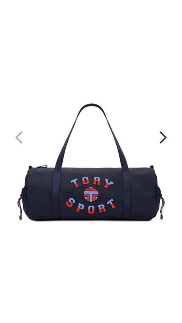 Item - Duffle Navy Nylon Weekend/Travel Bag