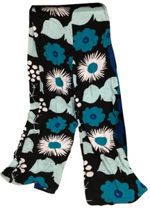 Marimekko for Target Wide Leg Pants multi black/blue/teal