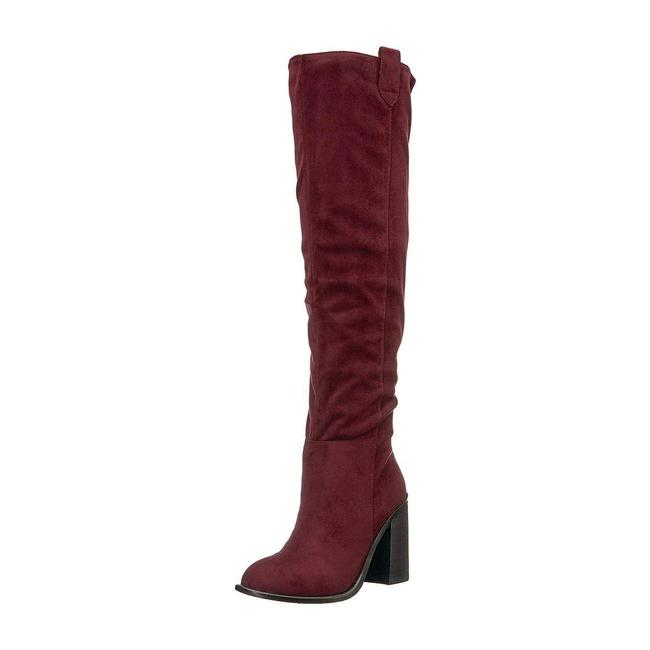 Very Volatile Wine Nate Tall Heeled Boots/Booties Size US 6 Regular (M, B) Very Volatile Wine Nate Tall Heeled Boots/Booties Size US 6 Regular (M, B) Image 2