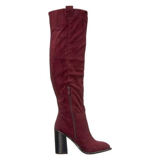 Very Volatile Wine Nate Tall Heeled Boots/Booties Size US 6 Regular (M, B) Very Volatile Wine Nate Tall Heeled Boots/Booties Size US 6 Regular (M, B) Image 6