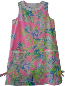 Lilly Pulitzer short dress Multi Squeeze The Day Dress Fun Cute Lovely New Little Girl's on Tradesy