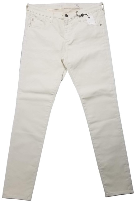 Item - Cream Light Wash The Legging High Skinny Jeans Size 30 (6, M)