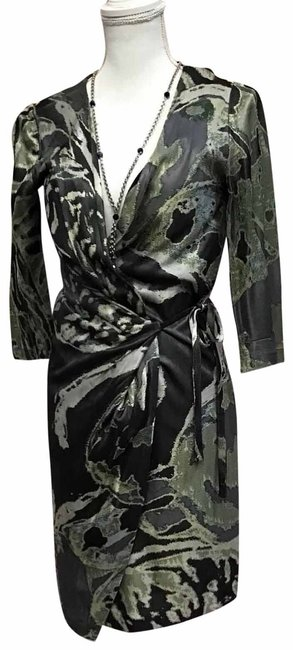 Item - Green Mid-length Night Out Dress Size 8 (M)