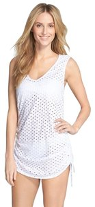 Eco Swim Eco Swim Side Shirred Mesh Cover-Up Dress
