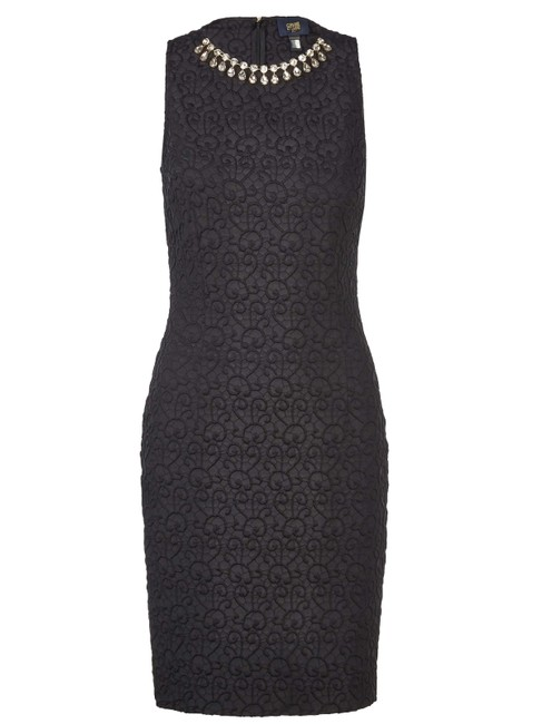 Item - Black #67338 Mid-length Cocktail Dress Size 6 (S)