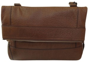 Olivia Harris BROWN Messenger Bag