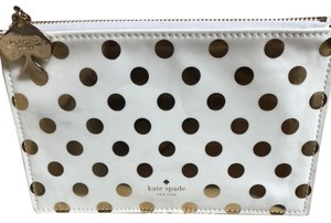 Kate Spade Kate Spade Polka Dot Pencil/ Cosmetic Bag