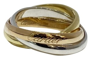 Cartier Cartier 18k Gold Classic Trinity Ring Size 5.25
