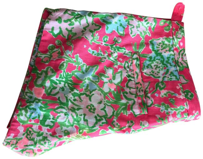 Item - Pink Green White Shorts Size 4 (S, 27)