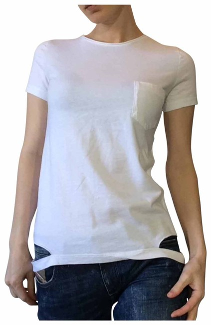 Item - White Tee Shirt Size 4 (S)